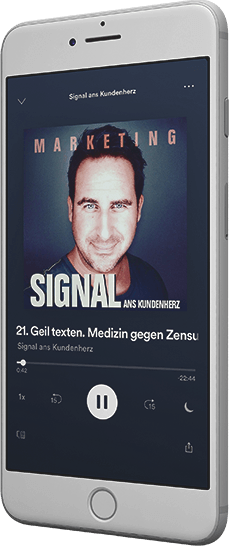 Marketing - und Socialmedia Podcast Signal ans Kundenherz bei iTunes und Spotify